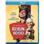 Blu ray robin hood Filmer The Adventures of Robin Hood [Blu-ray] [1938] [US Import]
